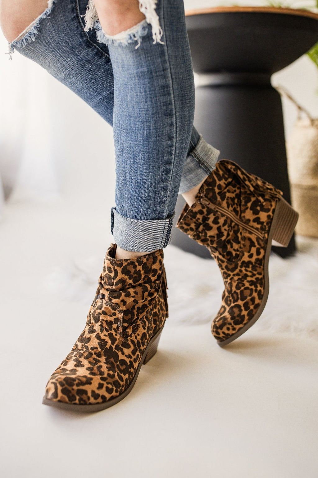 Not Rated Veronica Bootie in Leopard