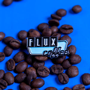 Flux Coffee Enamel Pin