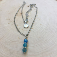 Rain Necklace - Spiritual Wholeness, Inner Peace and Detoxify