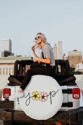 Floral Jeep