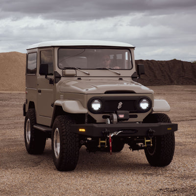 "BLACKDOG TRADERS FJ40 ""HUNTER"" - 556 HP, SUPERCHARGED, AND OH SO SWEET..."