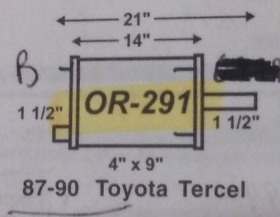 IMCO OR 291 1987-90 Toyota Tercel, Mufflers, IMCO - Midwest Autopro Parts