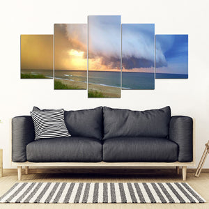 Outer Banks Squal Wall Art 5 Panel