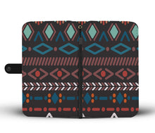 Load image into Gallery viewer, Southwest/Navajo/Native American/Blue/Diamond/Phone Case/Wallet