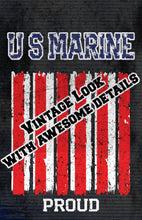 Load image into Gallery viewer, Marines/Proud/Print/US Marines/Military/USA/Marine Corp/Military Pride/Poster