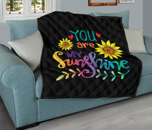 Load image into Gallery viewer, Your Are My Sunshine/Quilt/Bedspread