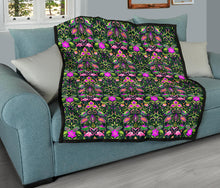 Load image into Gallery viewer, Flamingos/Floral Neon/Quilt/Bespread