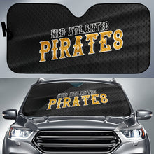 Load image into Gallery viewer, Mid Atlantic Pirates Black Jersey Car Sun Shade