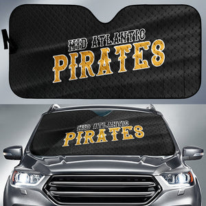 Mid Atlantic Pirates Black Jersey Car Sun Shade