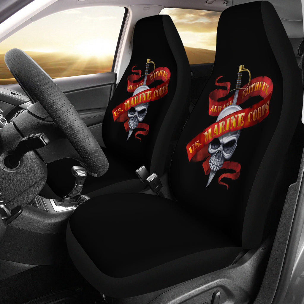 US Marine/Always Faithful/United State Marine/Auto Seat Covers