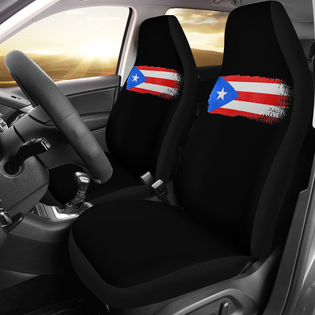 Puerto Rico Pride Car Seat Covers