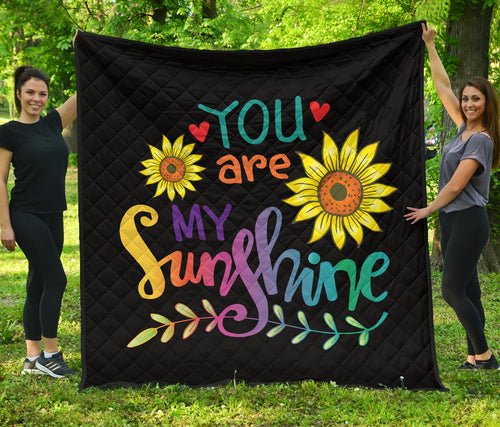 Your Are My Sunshine/Quilt/Bedspread