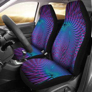 Vortex Pattern/Purple/Car Seat Covers