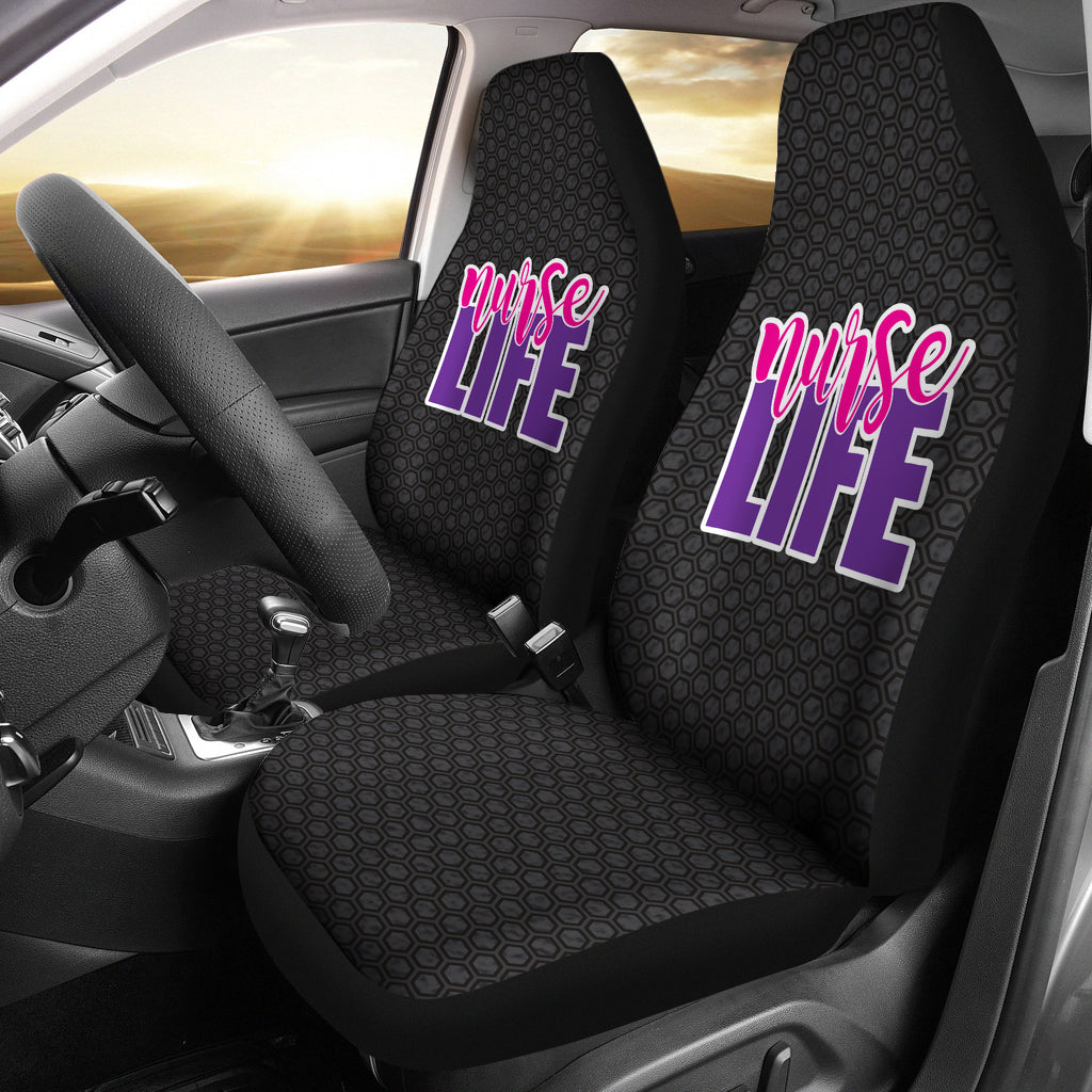 Nurse Life/Nursing//Registered Nurse/Micro Fiber/Auto Seat Covers