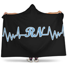 Load image into Gallery viewer, Nurse/Heartbeat/North Carolina/Hoodie Blanket/Snuggie