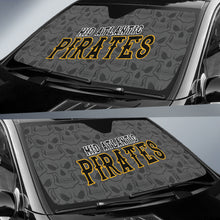 Load image into Gallery viewer, Mid Atlantic Pirates Big Skulls Car Sun Shade