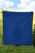 Load image into Gallery viewer, Mexican Quilt/Pattern 04/Blue/Quilt/Blanket/Bed Spread