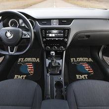 Load image into Gallery viewer, Florida/EMT/American Flag/Car/Truck/SUV/Auto/RV/Floor Mats (2-front floor mats per order)