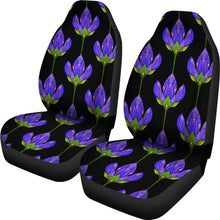 Load image into Gallery viewer, Floral Blue/Pattern/Car Seat Covers/Auto Seat Covers/SUV Seat Covers/Truck Seat Covers (Set of 2)