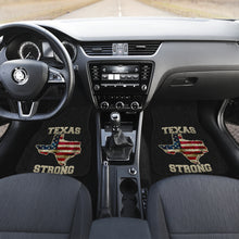 Load image into Gallery viewer, Texas/Strong/Floor Mats/American Flag/Car/Truck/SUV/Auto/RV (2-front floor mats per order)
