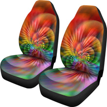 Load image into Gallery viewer, Vortex Tie Dye/Scallop/Micro  Fiber Seat Covers