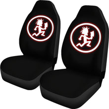 Load image into Gallery viewer, Juggalos Running Man/Jugalos/Running Man/Insane Clown Posse/Car Seat Covers Auto Seat Covers/ SUV Seat Covers/ Truck Seat Covers (Set of 2)