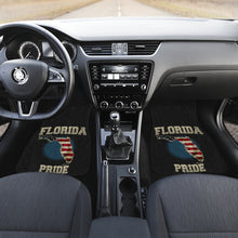 Load image into Gallery viewer, Florida/Pride/American Flag/Car/Truck/SUV/Auto/RV/Floor Mats (2-front floor mats per order)