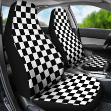Load image into Gallery viewer, Checkered Design/Checkered/Auto Seat Covers/SUV Seat Covers