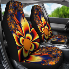 Load image into Gallery viewer, Sunburst Pattern/Red/Blue/Car Seat Covers