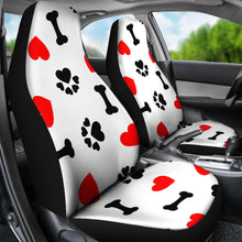Load image into Gallery viewer, Love Paws Seat Covers Large Print