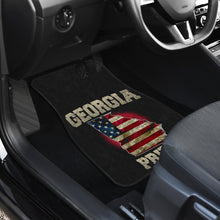 Load image into Gallery viewer, Georgia/Pride/American Flag/Car/Truck/SUV/Auto/RV/Floor Mats (2-front floor mats per order)