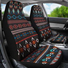 Load image into Gallery viewer, Southwest/Navajo/Native American/Blue/Diamond/Micro Fiber/Auto/Car/Seat (2 seat covers per set)
