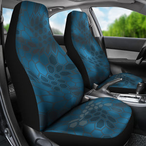 Kryptic Neptune/Camo/Serpent/Car Seat Covers Auto Seat Covers/ SUV Seat Covers/ Truck Seat Covers (Set of 2)