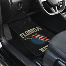 Load image into Gallery viewer, Florida/Nation/American Flag/Car/Truck/SUV/Auto/RV/Floor Mats (2-front floor mats per order)