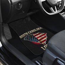 Load image into Gallery viewer, South Carolina/Love/American Flag/Car/Truck/SUV/Auto/RV/Floor Mats (2-front floor mats per order)