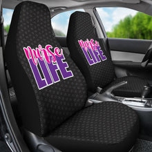 Load image into Gallery viewer, Nurse Life/Nursing//Registered Nurse/Micro Fiber/Auto Seat Covers