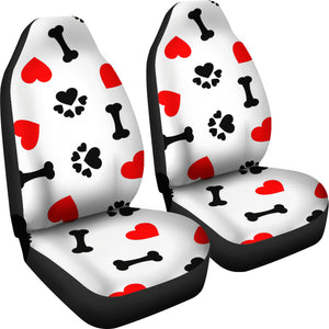 Love Paws Seat Covers Large Print