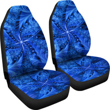 Load image into Gallery viewer, Ice Northern Cross/Blue/Car Seat Covers/Auto Seat Covers/SUV Seat Covers/Truck Seat Covers (Set of 2)