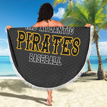 Load image into Gallery viewer, Mid Atlantic Pirates BB Round Blanket
