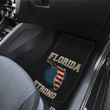 Load image into Gallery viewer, Florida/Strong/American Flag/Car/Truck/SUV/Auto/RV/Floor Mats (2-front floor mats per order)