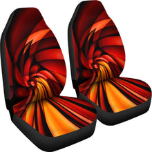 Load image into Gallery viewer, Lava Vortex/Red/Orange/Car Seat Covers/Auto Seat Covers/SUV Seat Covers/Truck Seat Covers (Set of 2)