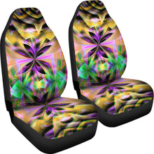 Load image into Gallery viewer, Neon/Abstract/Kaleidoscope/Multi Color/Car Seat Covers/Auto Seat Covers/SUV Seat Covers/Truck Seat Covers (Set of 2)