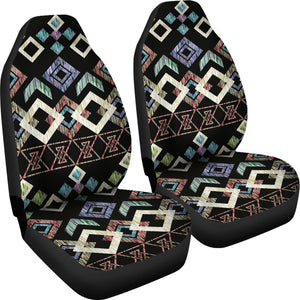 Native Pattern/Black/Car Seat Covers/Auto Seat Covers/SUV Seat Covers/Truck Seat Covers (Set of 2)