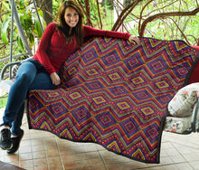 Load image into Gallery viewer, Mexican Quilt/Pattern 06/Quilt/Blanket/Bed Spread