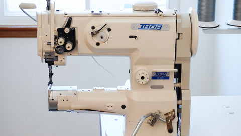 The BEST Cylinder Arm Industrial Sewing Machine Ever & The Wonderful People Who Sold It To Me