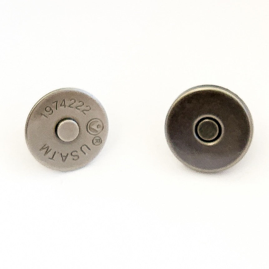 14 mm Slim Profile Magnetic Snaps (set of 2) - PfitzSewSwell