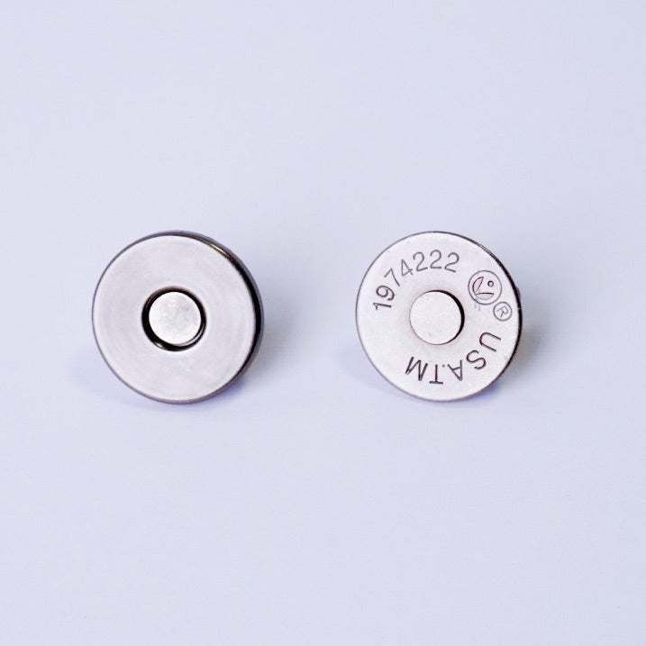 18 mm Slim Profile Magnetic Snaps (set of 2) - PfitzSewSwell