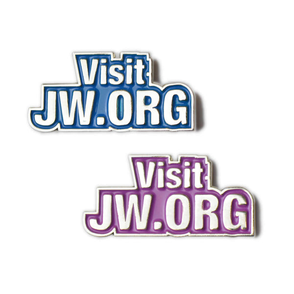 Metal Pin Badge - Visit JW.ORG