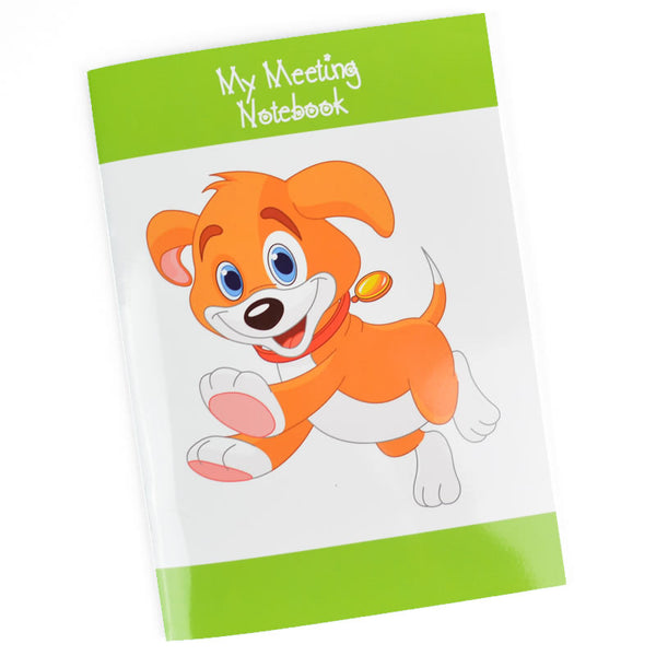 Meeting Notebook for Children