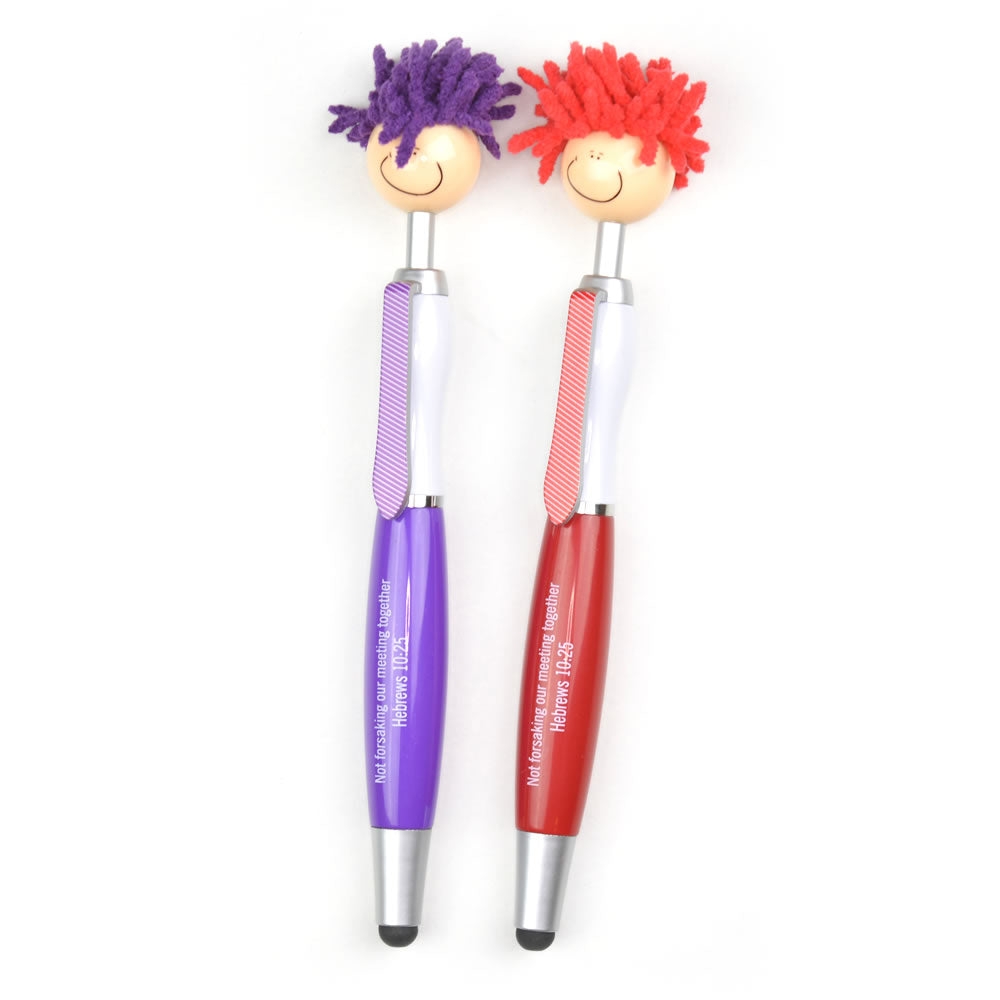 Children's (or Adults!) Fun Mop Head Pen